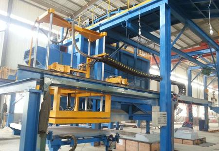 Automatic casting molding line